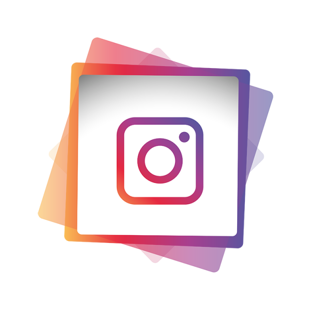 Instagram social media icon. Electronics clipart vector