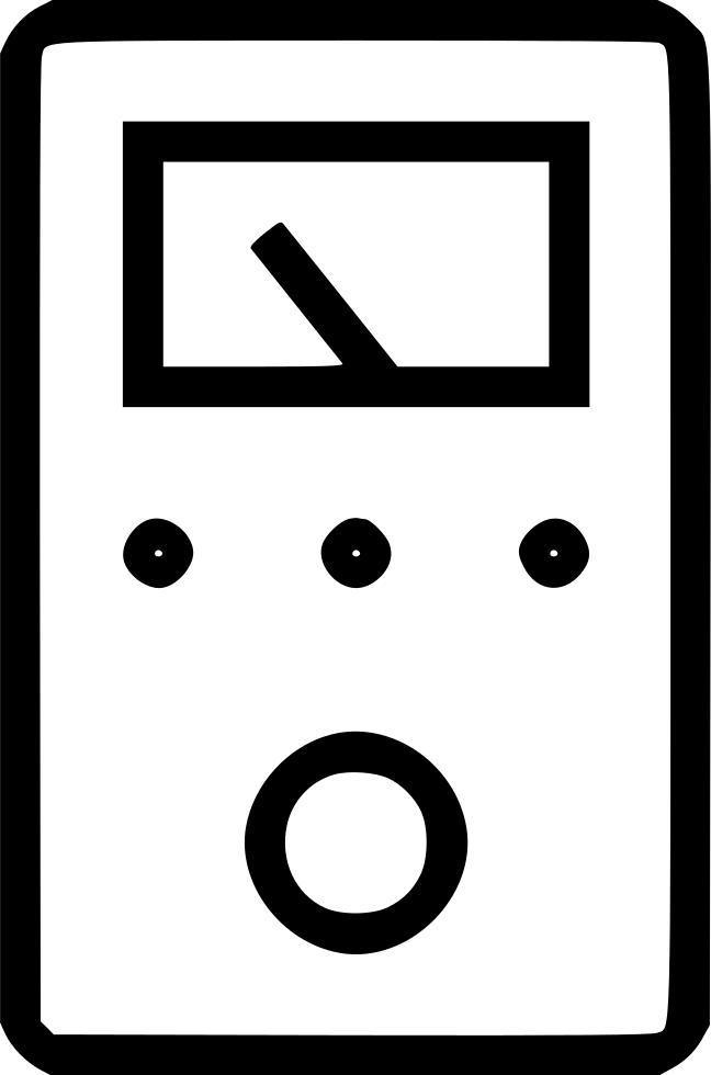 Metal Detector Multimeter Voltmeter Svg Png Icon Free Download