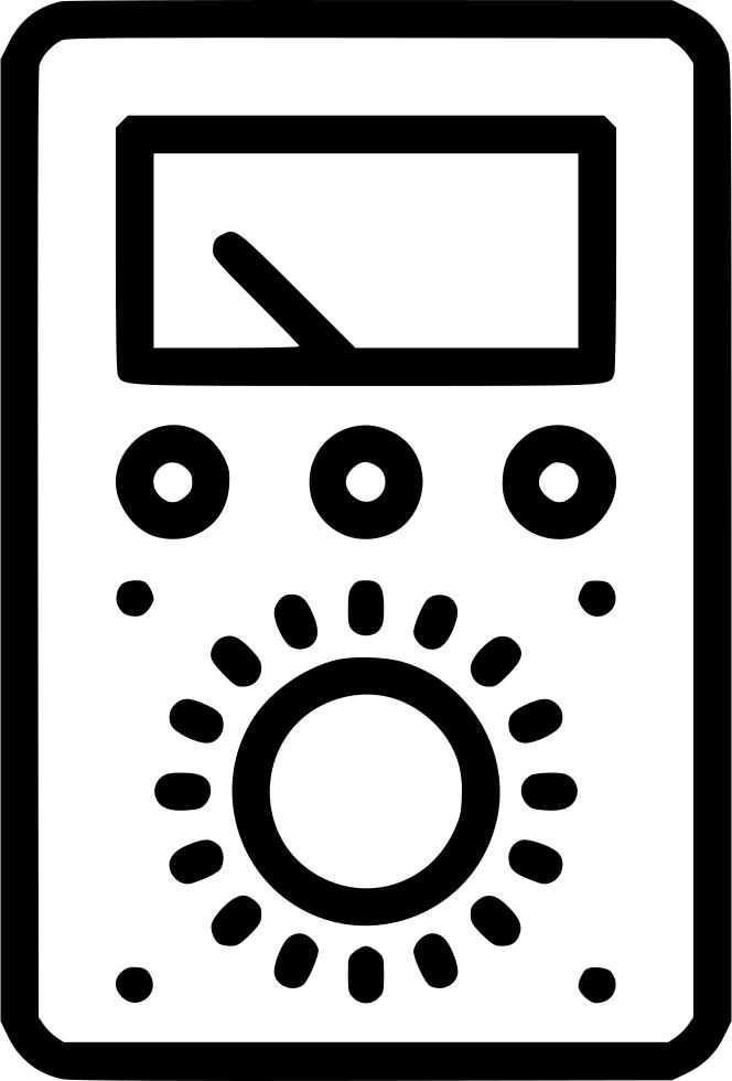 Electronics clipart voltmeter. Tester amper watt volt