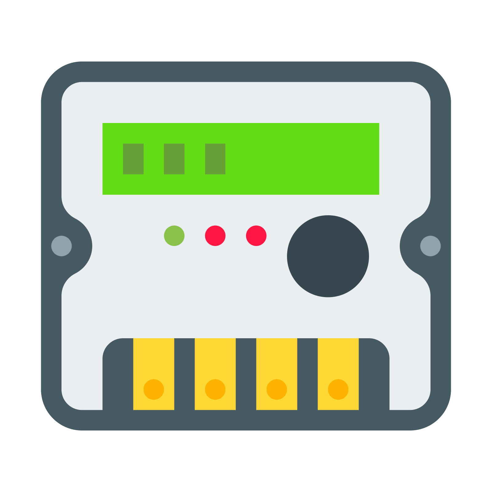 Electronics clipart voltmeter. Energy meter icon free