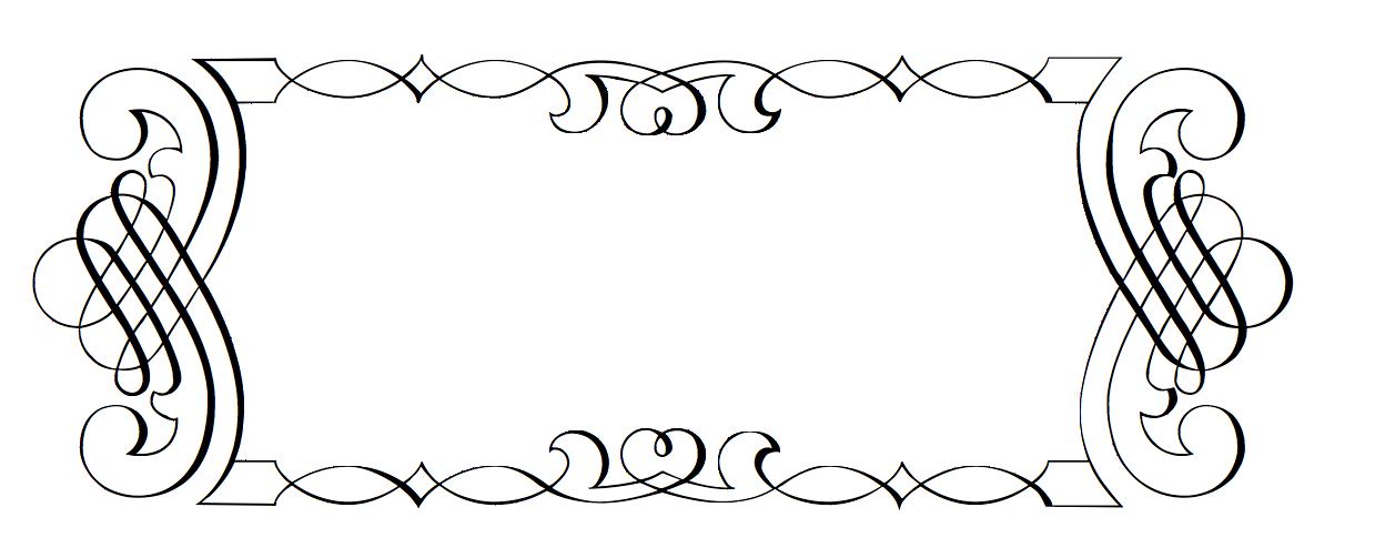 Elegant border png. Scroll transparent images pluspng