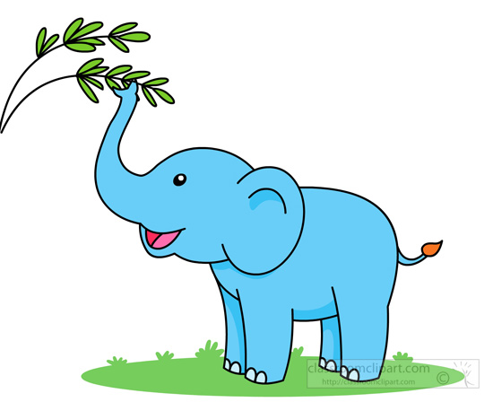 Elephant clipart. Free clip art pictures