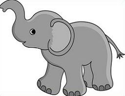 Elephants clipart. Free elephant