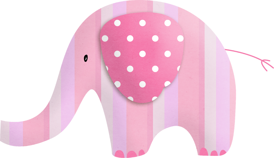 Elephant clipart baby girl. Png l minas decoupage