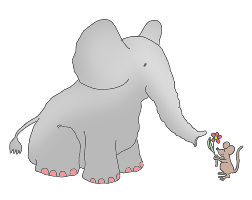 Elephant clipart tree. Cliparts for free and