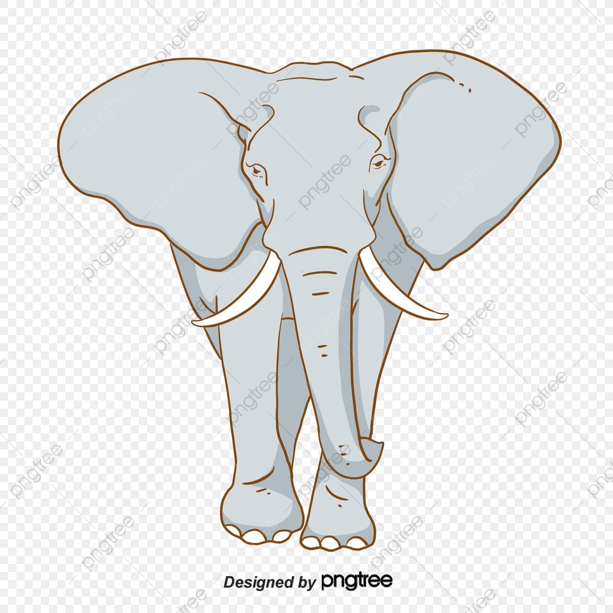 Elephant clipart tree. Grey clip art animal