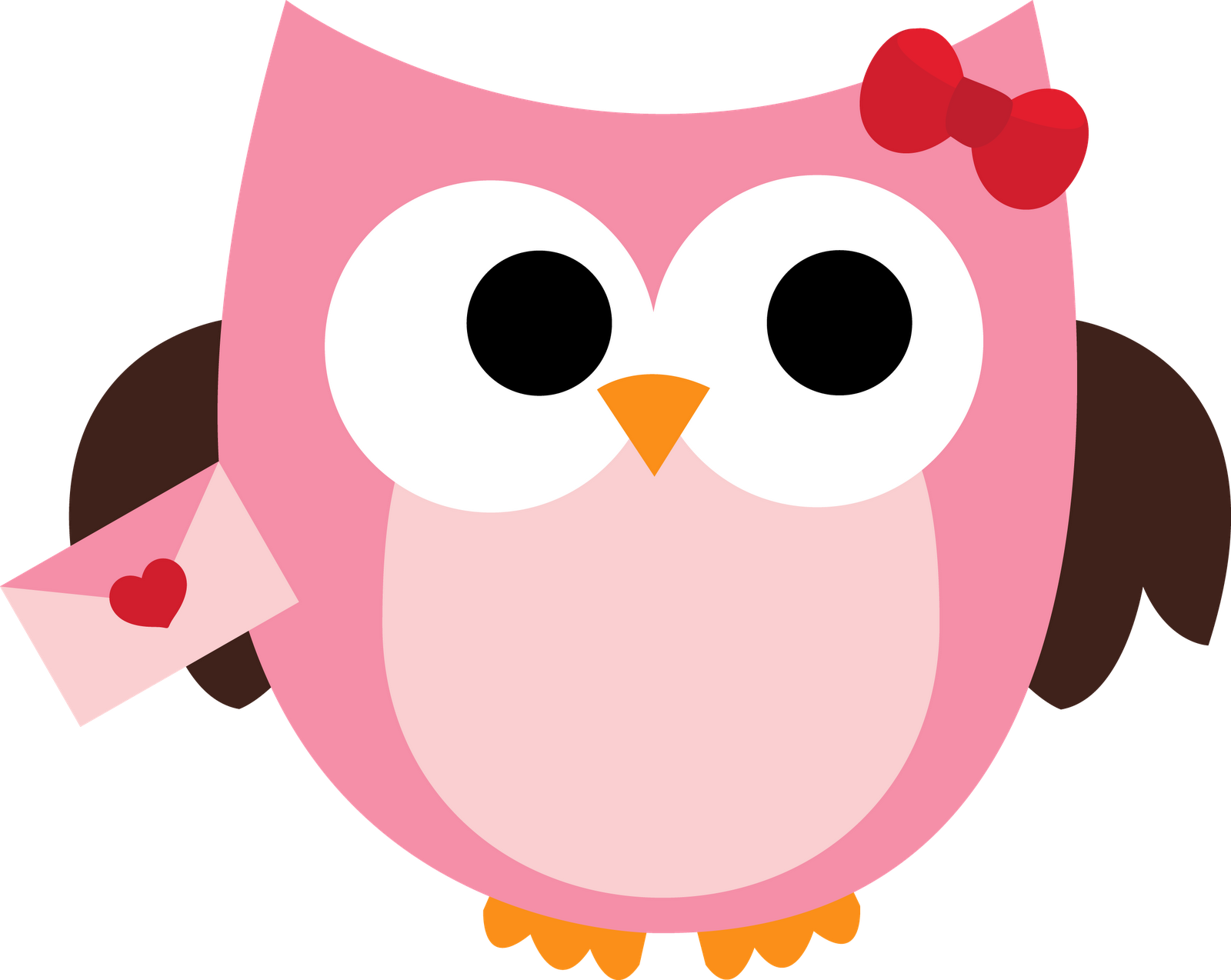 Valentines day owl letters. Owls clipart glass