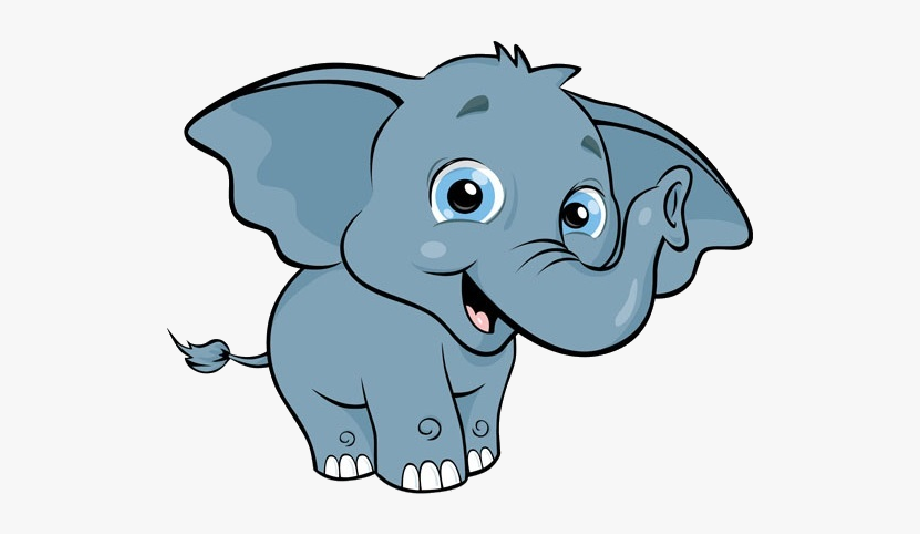 Elephant clipart. Baby height