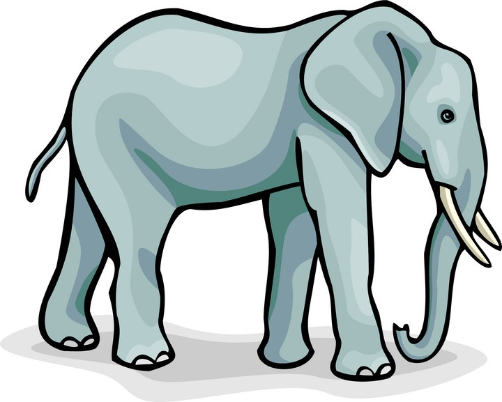 Free elephant . Elephants clipart
