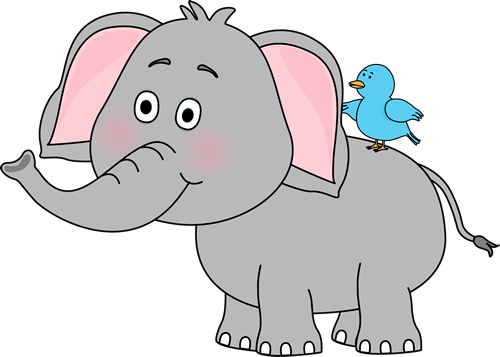 Elephant clip art images. Elephants clipart