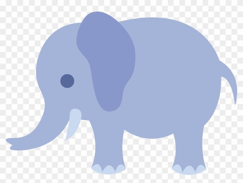 Elephants clipart vector. Baby shower clip art