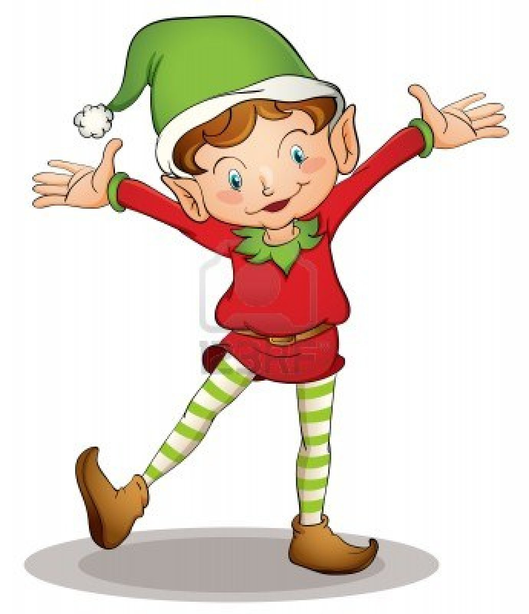 Elves clipart. Cute elf at getdrawings