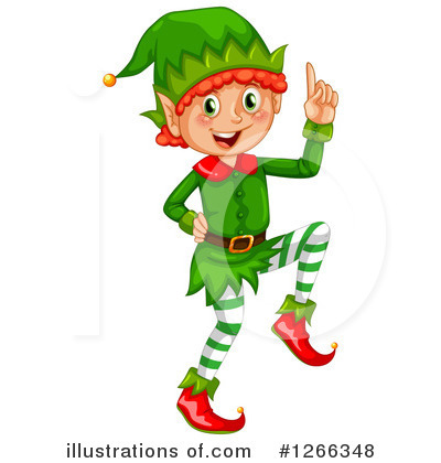 Christmas elf illustration by. Elves clipart schedule