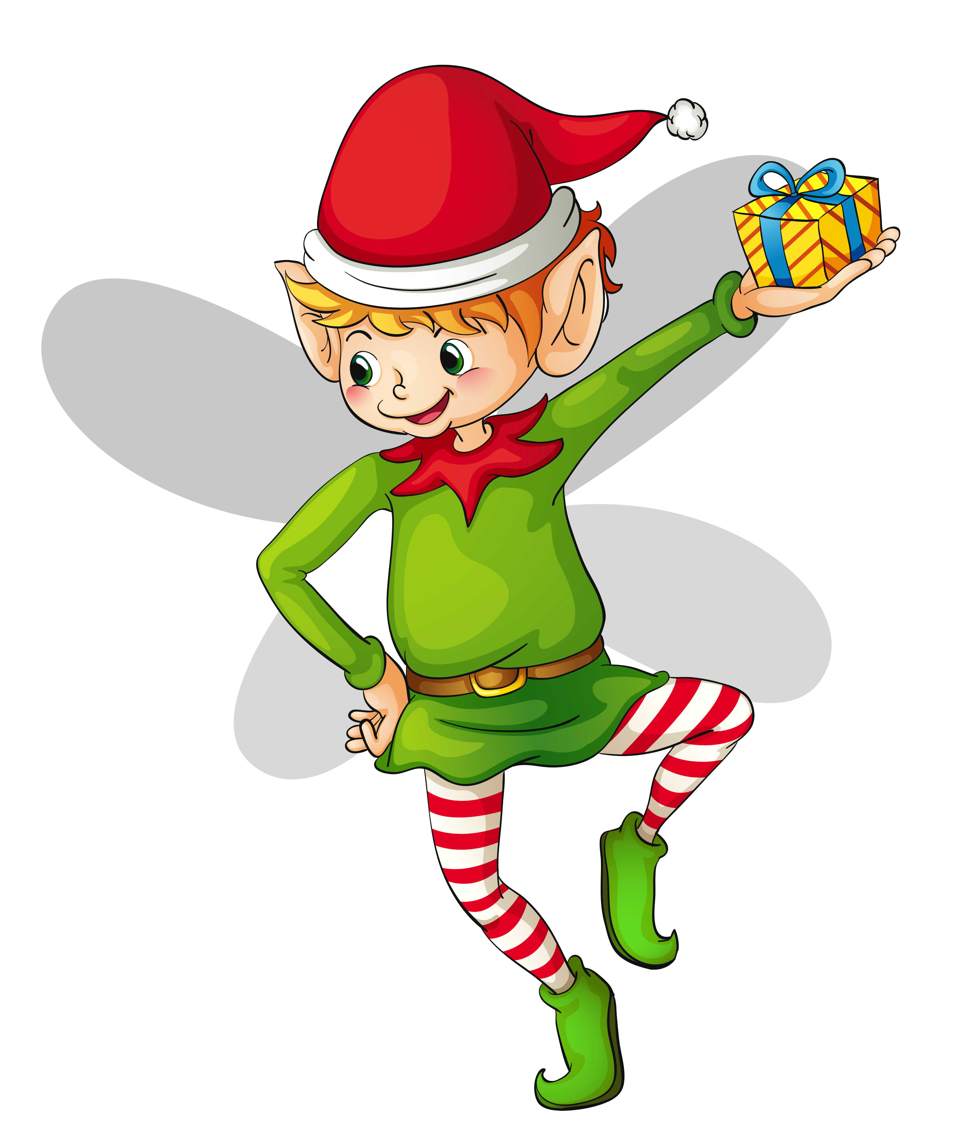 Free elf group christmas. Elves clipart north pole