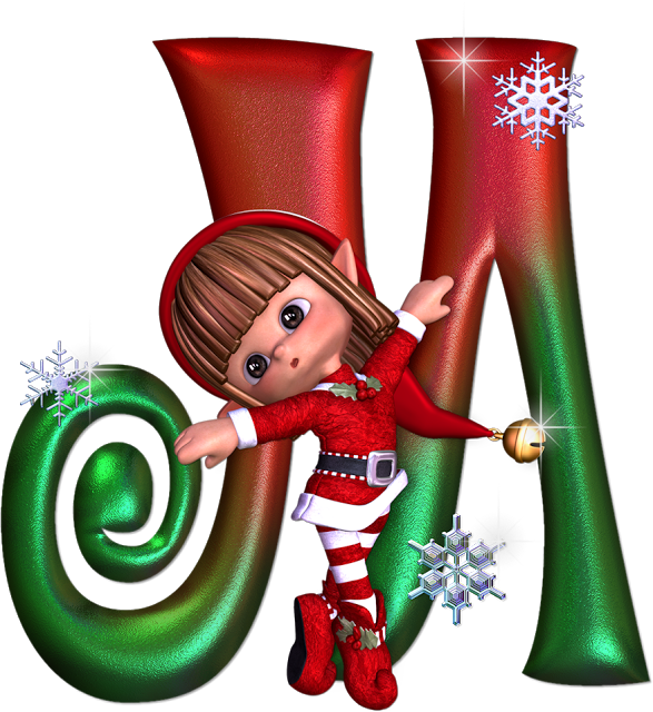 Pin by marina on. Elves clipart monogram