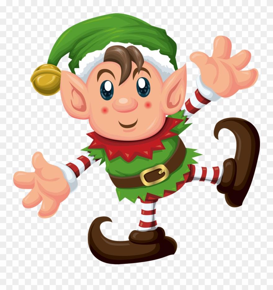 Elves clipart schedule. Christmas elf pinclipart