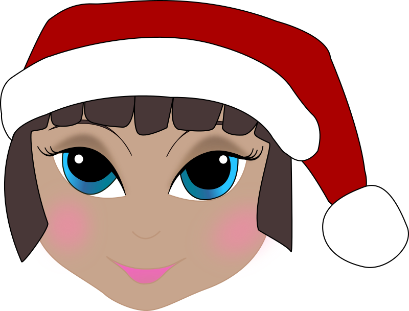 elf clipart elf face