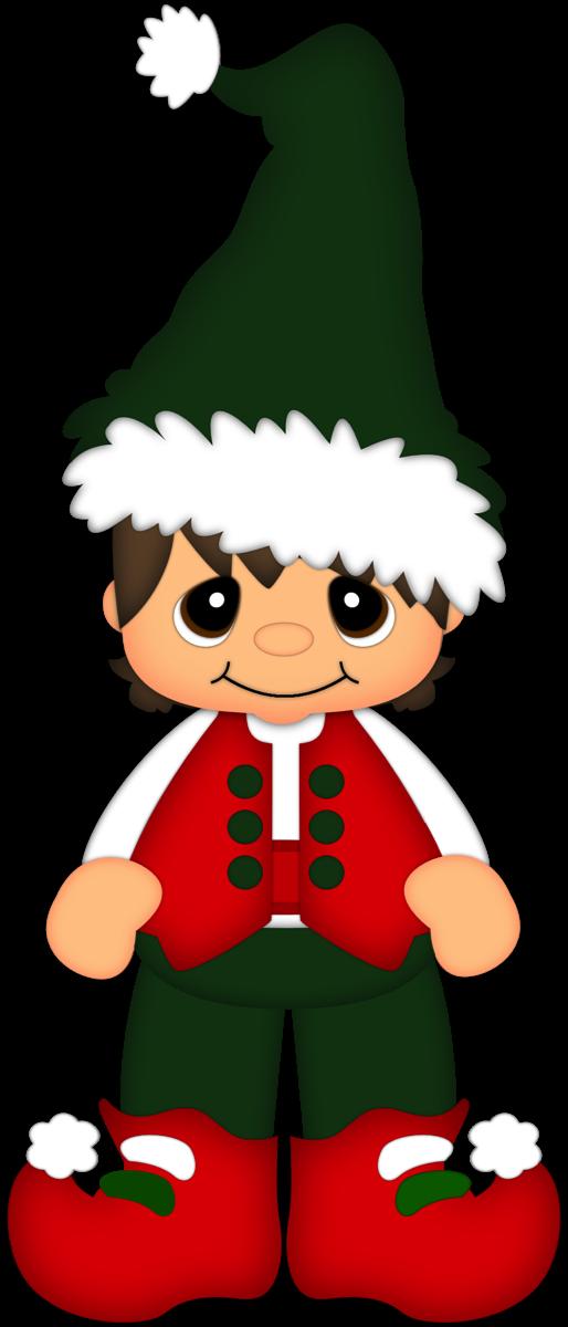 Factories clipart elf. Christmas boy from scrap