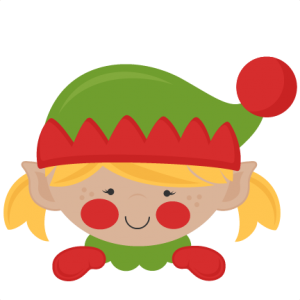 Pin on miss kate. Elves clipart cut out