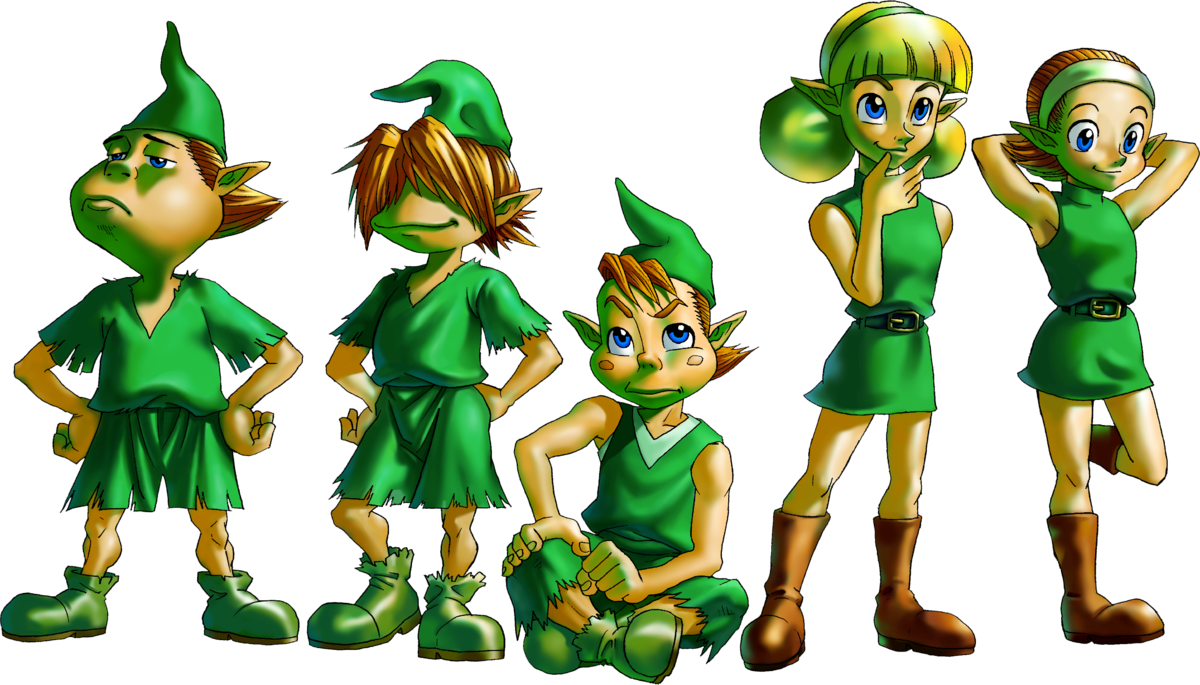 Kokiri zelda wiki . Elf clipart forest
