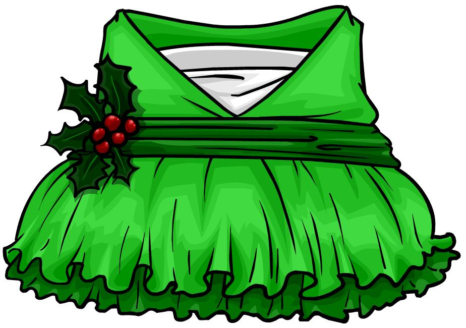 Elves clipart clothing. Holly elf dress club