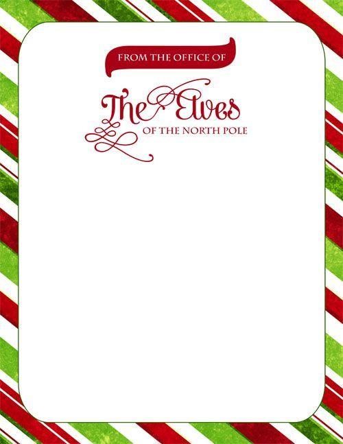 Free download official elf. Elves clipart letterhead