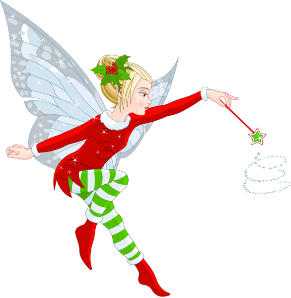 Forgetmenot christmas. Elves clipart body