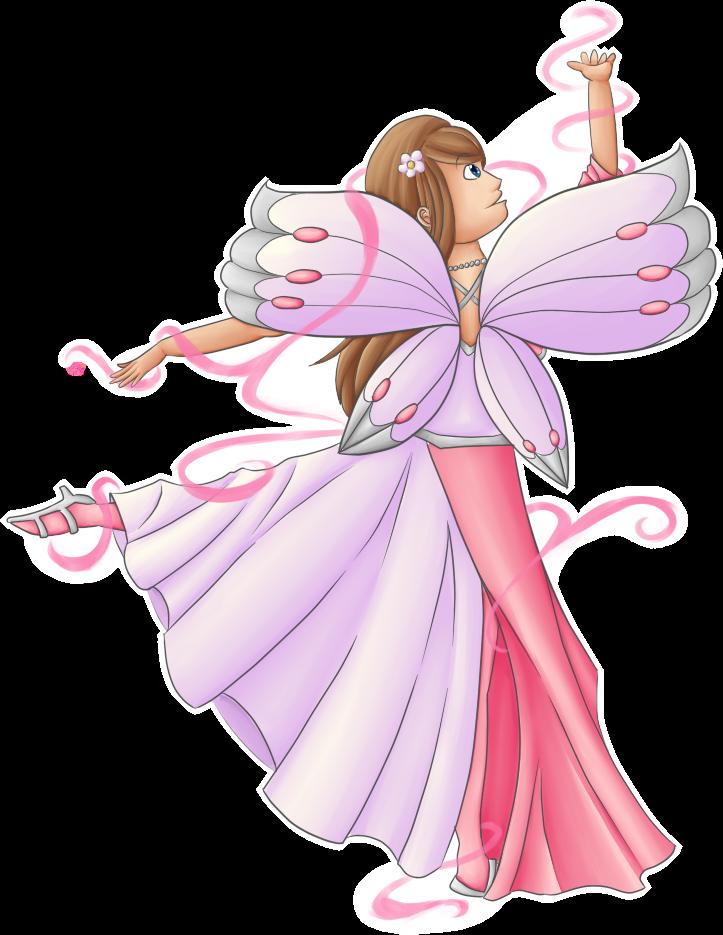 Fairies clipart elf. Dancing fairy queen by