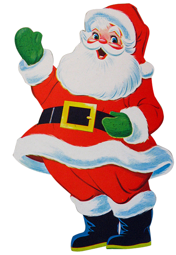 Retro clipart elf. Santa png pixels christmas