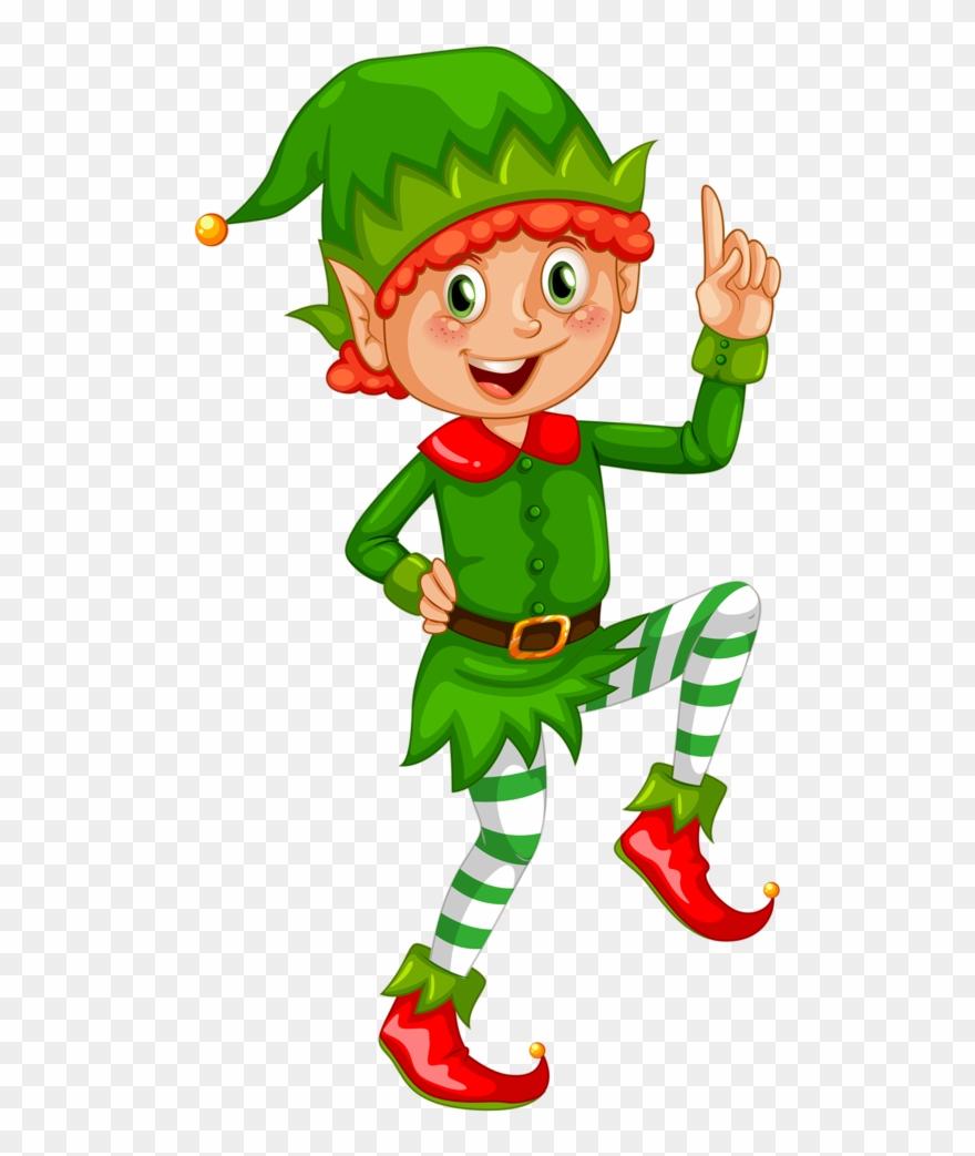 Elves clipart two. Christmas elf transparent background