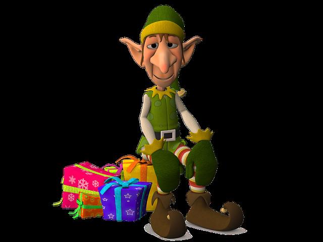 Christmas elf jokes about. Elves clipart writing