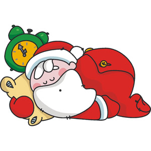 Free tired cliparts download. Santa clipart sleeping