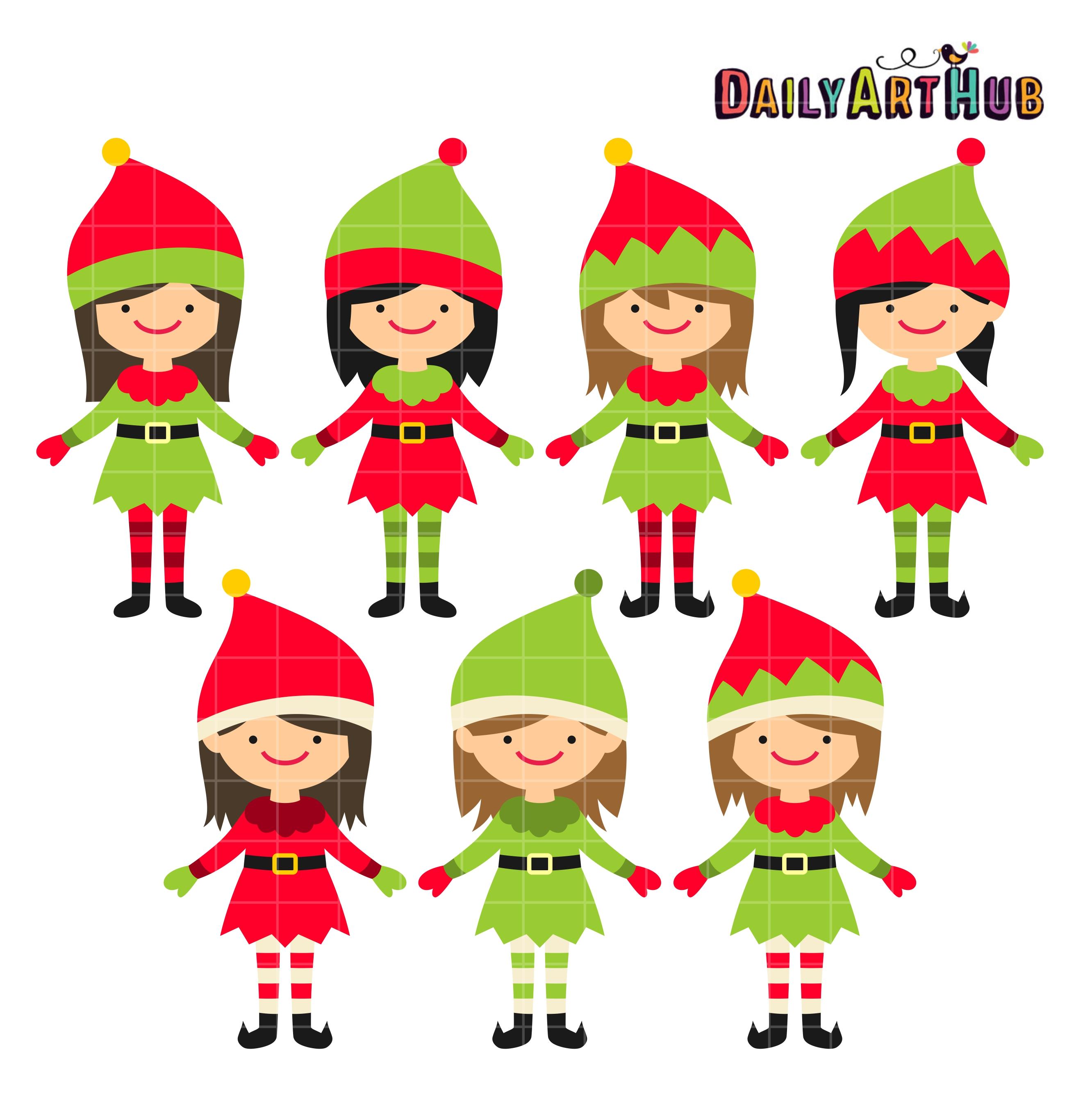 Elves clipart top. Elf free download best