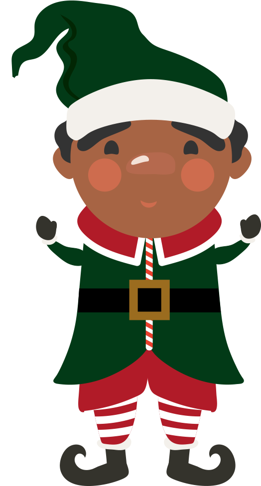This is a of. Elf clipart sticker