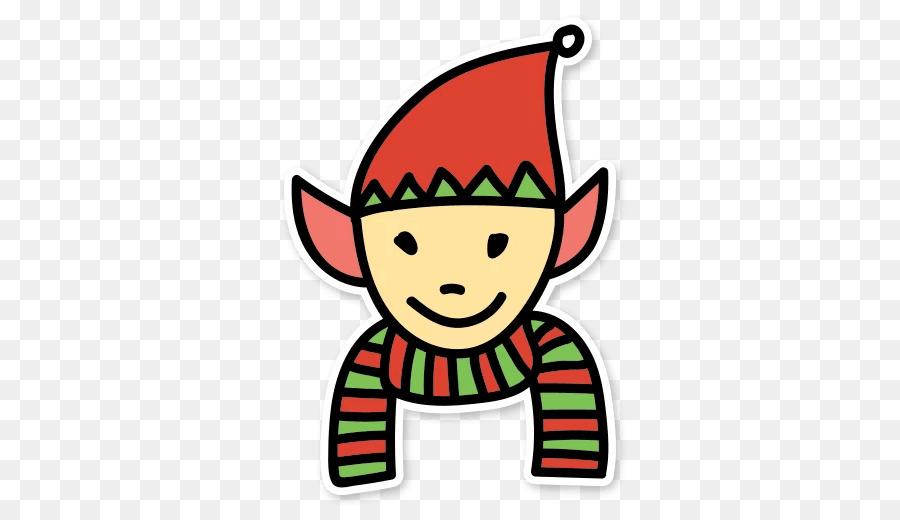 Elf clipart sticker. Clip art messaging apps