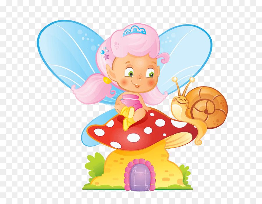 Elf clipart sticker. Cartoon fairy illustration