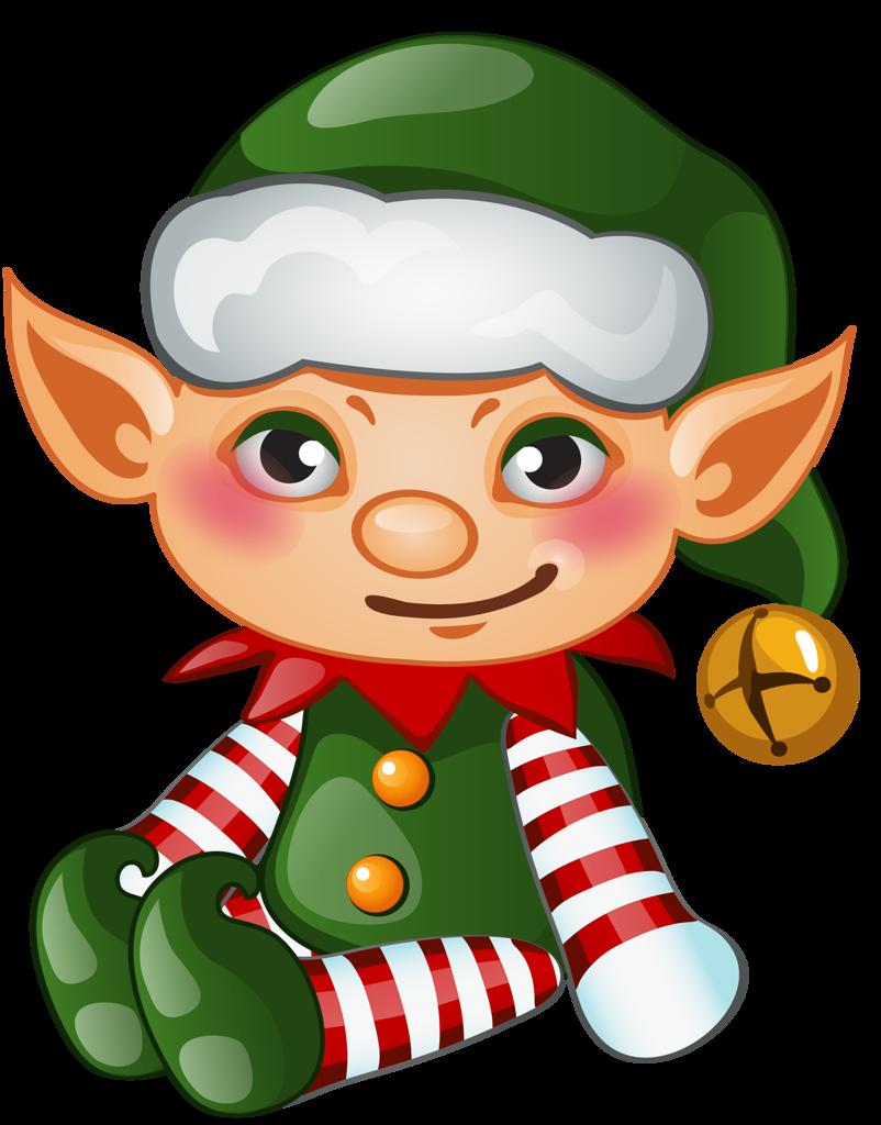 merry christmas and. Elves clipart letterhead