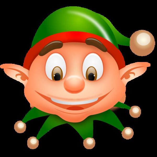 sad clipart elf