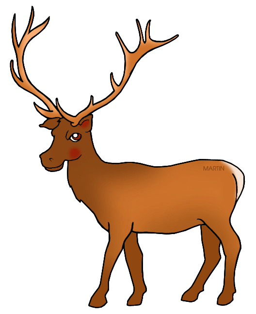 Clipart mountain deer. United states clip art