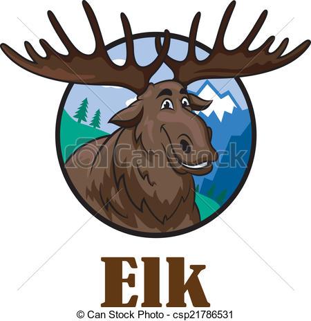 Drawn pinart hand draw. Elk clipart