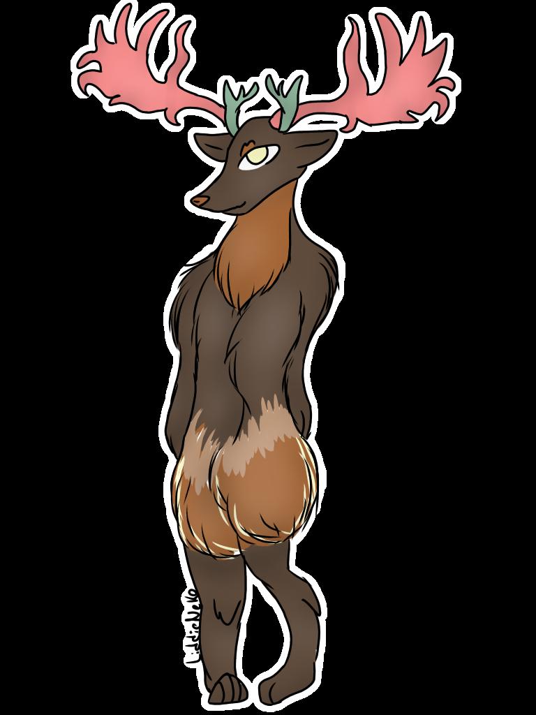 Elk clipart angry. Minkey helen deviantart commissions
