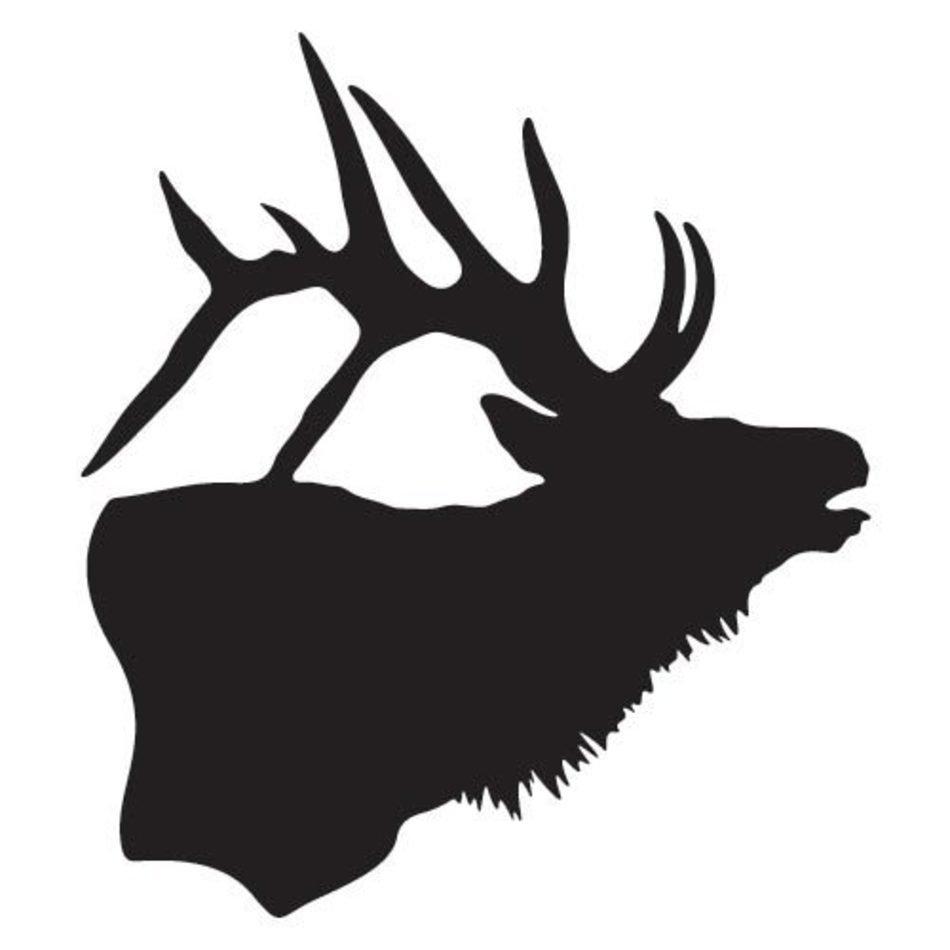 elk clipart elk head