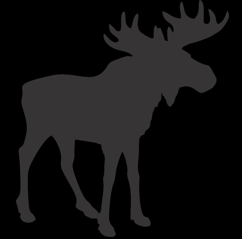 Moose clipart animal canada. Blue trading company