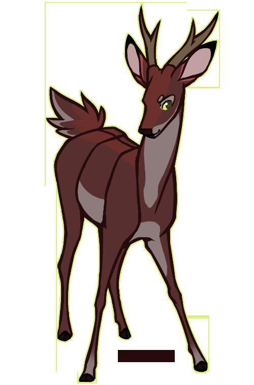 Oh by jaywalkings deviantart. Elk clipart sambar deer