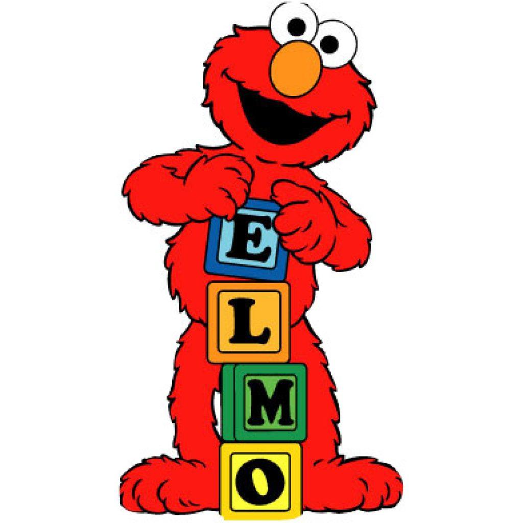 Elmo clipart. Animal hatenylo com pin