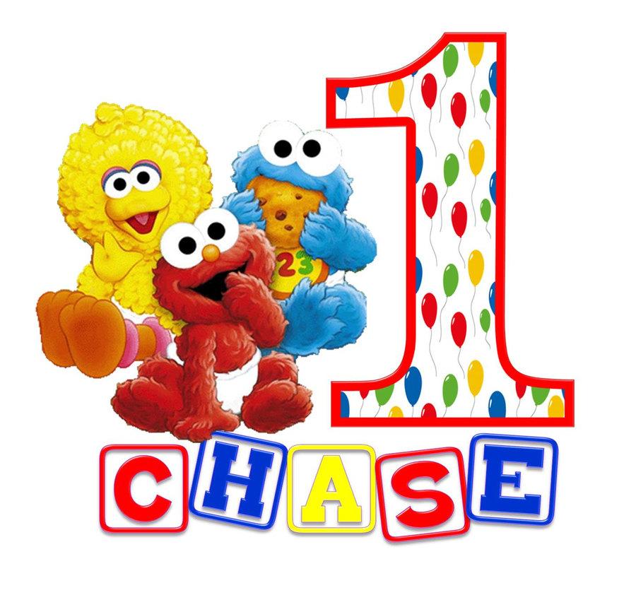 Download sesame street st. Elmo clipart 1st birthday