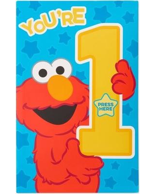 American greetings st card. Elmo clipart 1st birthday