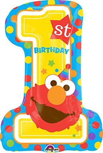 Elmo clipart 1st birthday. St balloon