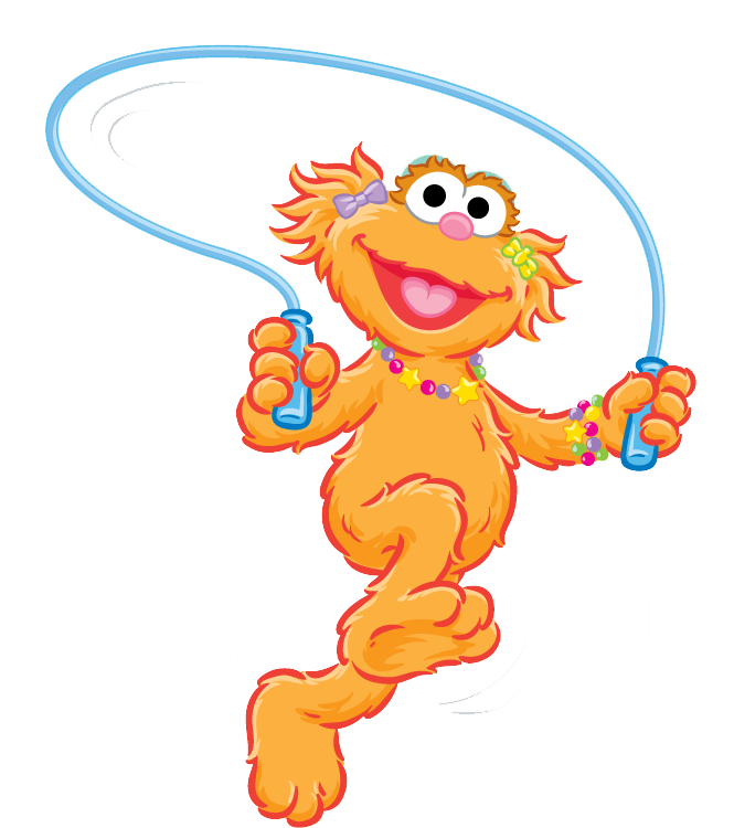 collection of zoe. Puzzle clipart sesame street