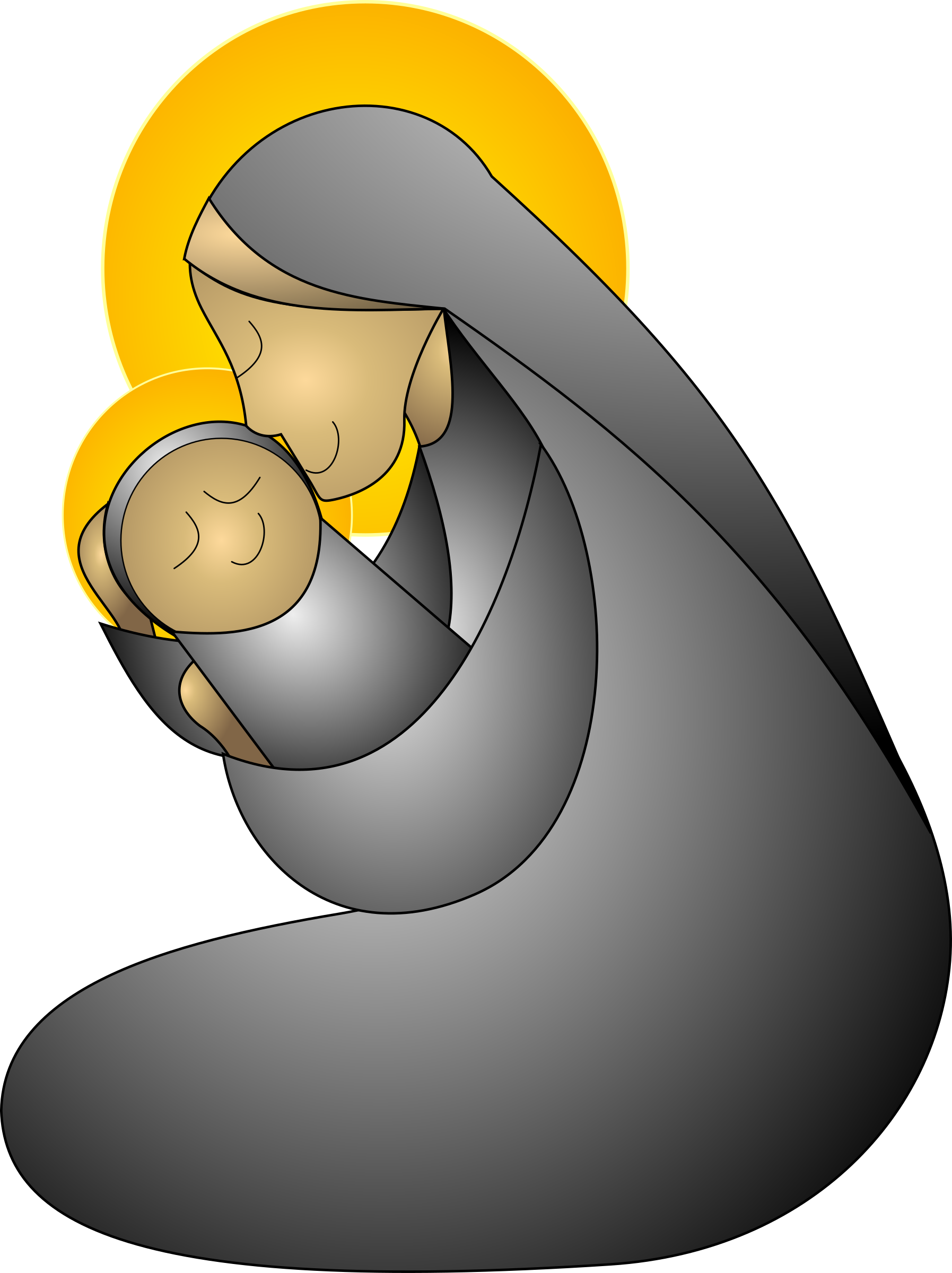 Second group mother baby. Hugging clipart motherr